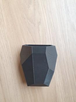 Vaso Geométrico para Geladeira Plantário